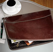 Leather Briefolio®, by Levenger