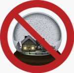 snow globes prohibited